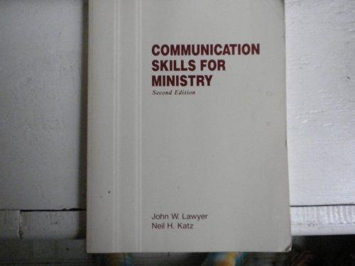 9780840337122: Communication Skills for Minis