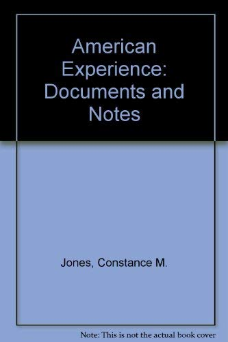 American Experience: Documents and Notes: Constance M. Jones,