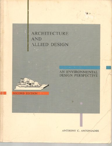 9780840339195: Architecture and allied design: An environmental design perspective
