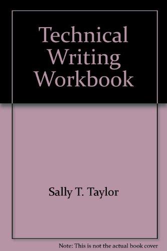 9780840345448: Technical Writing Workbook