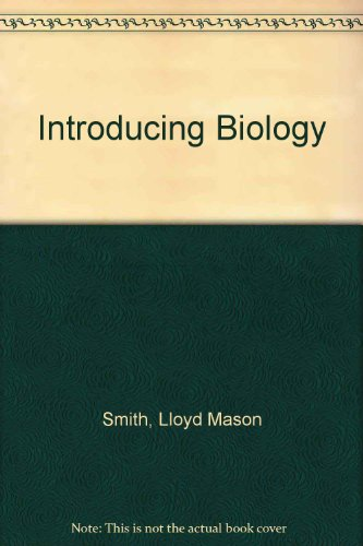 9780840349668: Introducing Biology