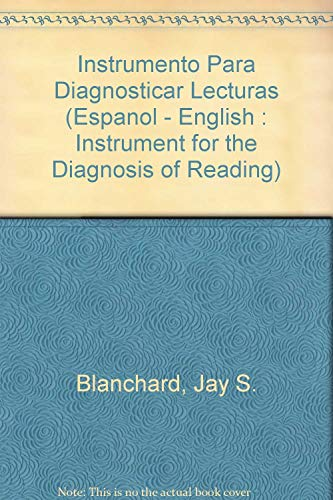9780840351999: Instrumento Para Diagnosticar Lecturas (Espanol - English : Instrument for the Diagnosis of Reading)