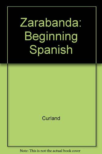 9780840352552: Zarabanda Beginning Spanish