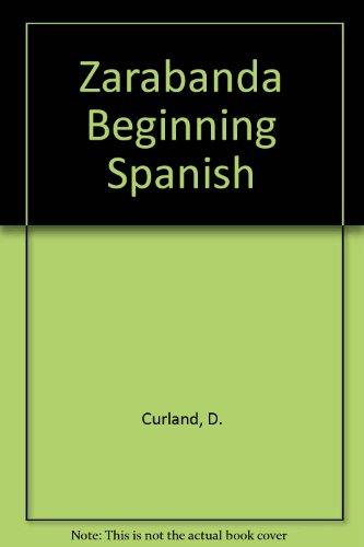 9780840368140: Zarabanda Beginning Spanish