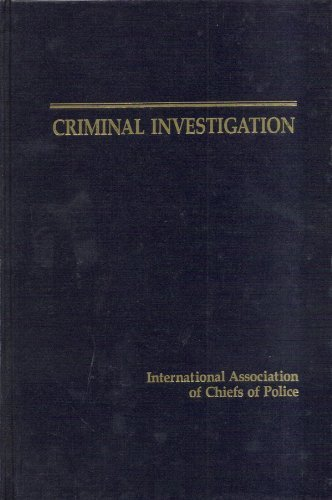 9780840379337: Criminal Investigation