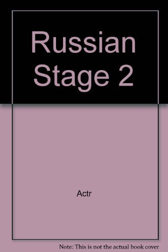 9780840379610: Russian Stage 2