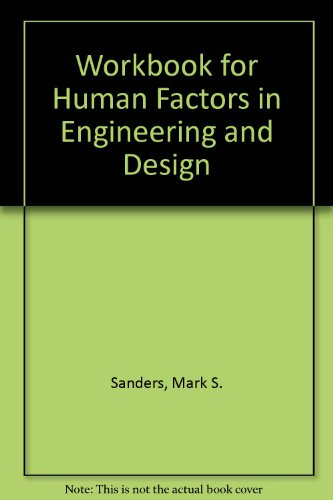 9780840382269: Workbook for Human Factors in Engineering and Design