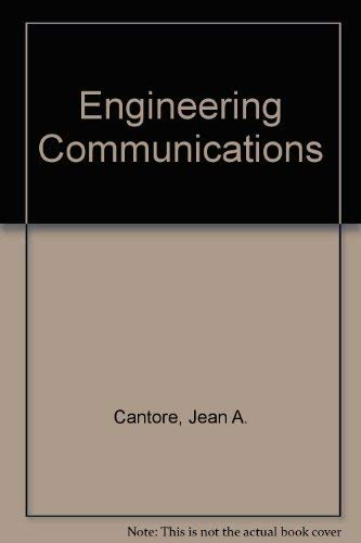ENGINEERING COMMUNICATIONS: CANTORE-GREGORY