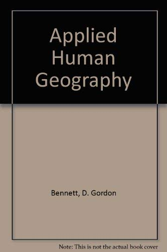 9780840383440: Applied Human Geography