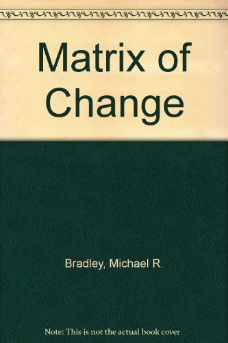 9780840387523: Matrix of Change