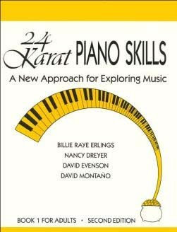 9780840387660: 24 KARAT PIANO SKILLS: A NEWAPPROACH FOR EXPLORING MUSICBOOK I FOR ADULTS