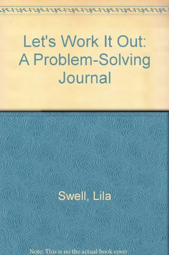 9780840395269: Let's Work It Out: A Problem-Solving Journal