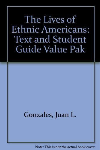 Student guide to accompany The lives of: Gonzales, Juan L