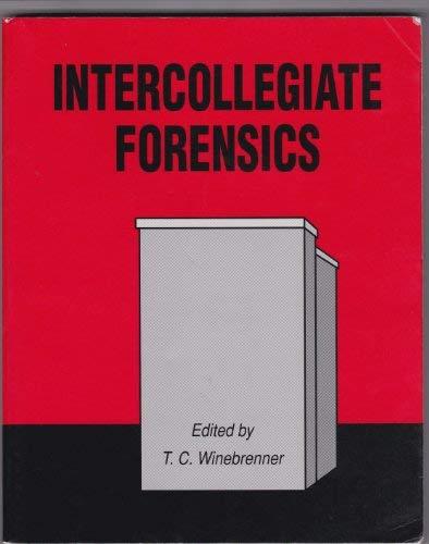 9780840397492: Intercollegiate Forensics