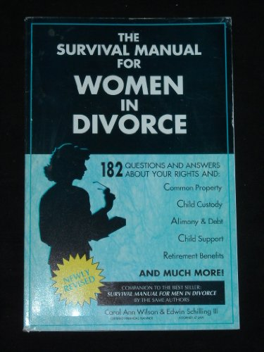 9780840397874: The Survival Manual for Women in Divorce: 182 Questions and Answers