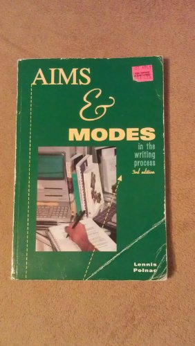 9780840398192: Aims and Modes in the Writing Process