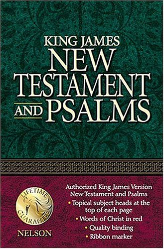 9780840701497: King James Version New Testament and Psalms