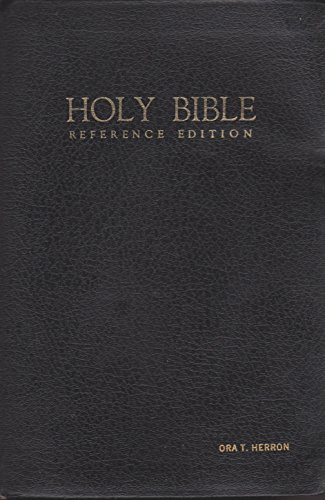 9780840703460: Giant Print Holy Reference Bible: King James Version : No. 555