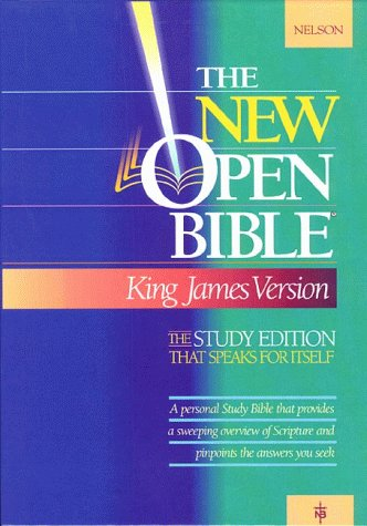 9780840707758: Holy Bible : The New Open Bible, Study Edition, King James Version