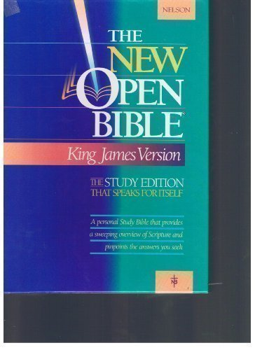 9780840707833: Holy Bible: The New Open Bible, Study Edition, King James Version, Dusty Rose Bonded Leather