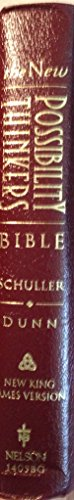 New King James Version New Possibility Thinkers Bible Burgundy Bonded Leather Indexed