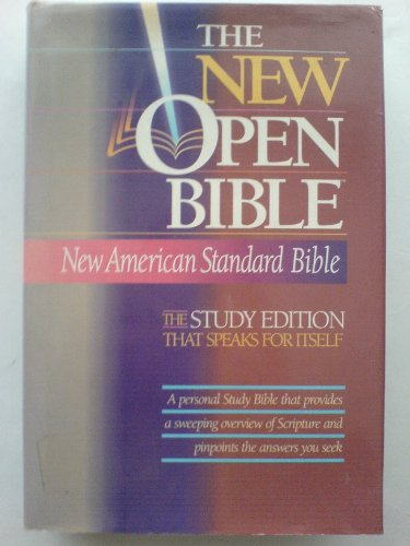 9780840709998: Holy Bible: The New Open Bible, Study Edition, New American Standard Bible