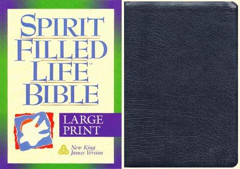 9780840710130: Holy Bible: Spirit Filled Life Bible, New King James Version, Large Print, Black Bonded Leather