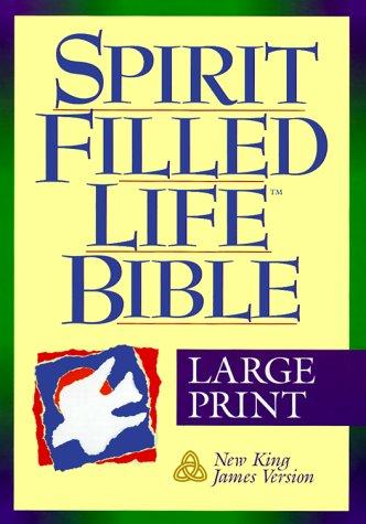 9780840710215: Holy Bible: Spirit Filled Life Bible, King James Version, Large Print, Burgundy Bonded Leather