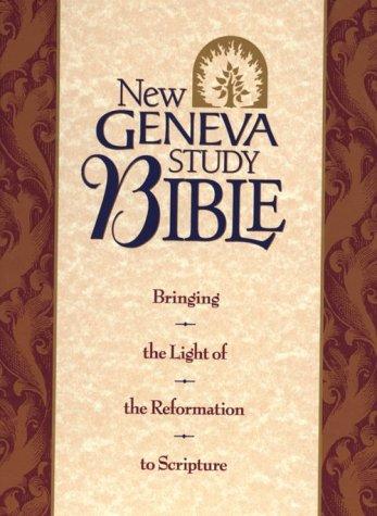 Holy Bible New Geneva Study/New King James