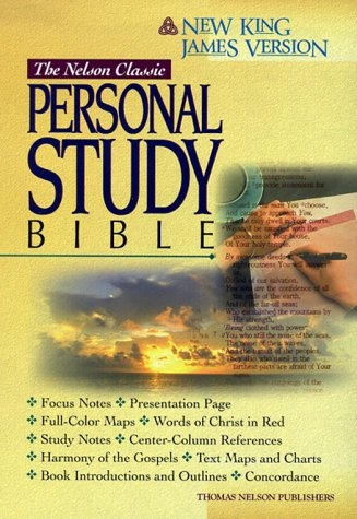 9780840711380: Holy Bible: Nelson Classic Personal Study Bible, New King James Version, Black (Style No 165/Black)