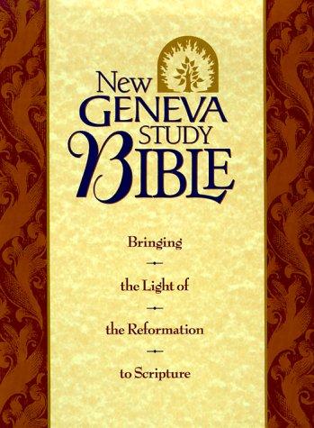 Holy Bible: New Geneva Study Bible, New