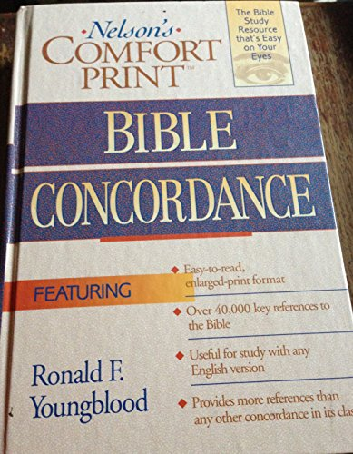 9780840711564: Nelson's Comfort Print Bible Concordance