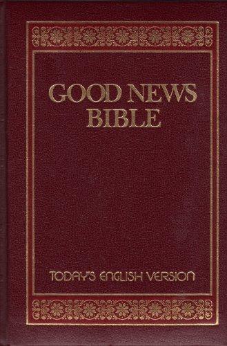 Good News Bible: Today's English Version/382Bg/Burgundy Padded