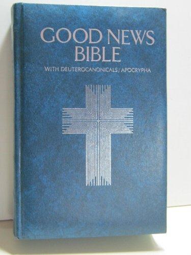 9780840712325: Holy Bible, Good News No. 392B: Catholic Study, Blue Padded Limit Leather