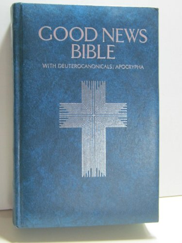Holy Bible, Good News No. 392B: Catholic Study, Blue Padded Limit Leather