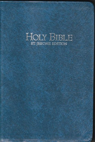 9780840712424: Holy Bible: The New Catholic Study Bible, St. Jerome Edition, Blue Perma Leather