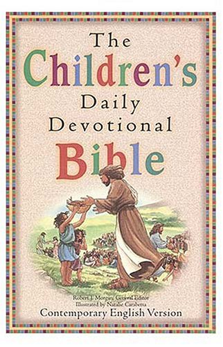 9780840712738: The Children's Daily Devotional Bible: Contemporary English Version