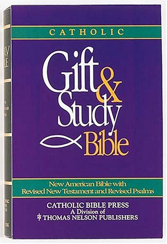 9780840712943: Catholic Gift And Study Bible