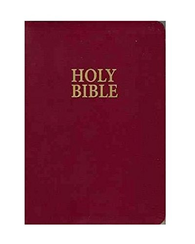 9780840713704: NKJV, Reference Bible, Giant Print, Leathersoft, Burgundy, R