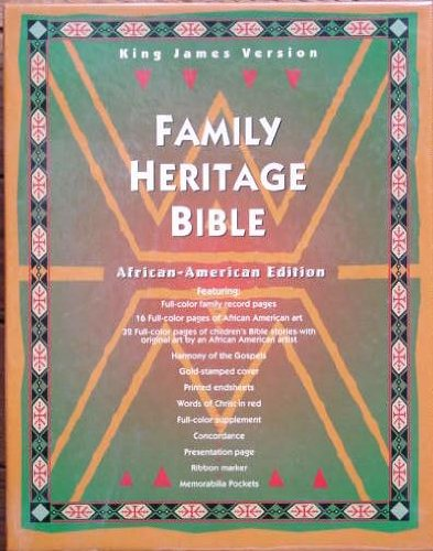 Family Heritage Bible: African American Edition (King James Version)