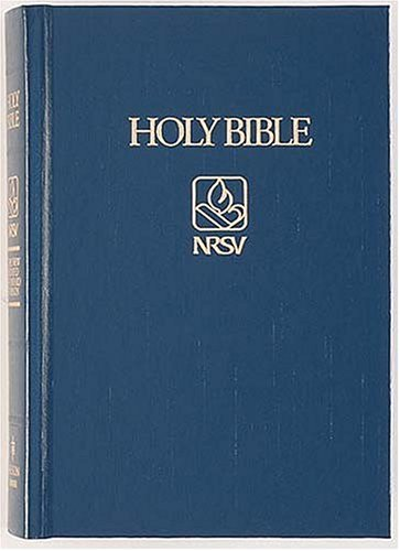 9780840713803: Holy Bible: New Revised Standard Version Pew Bibles, Dark Red/3800Nr