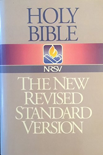 9780840713834: Holy Bible: New Revised Standard Version/Black Letter Edition