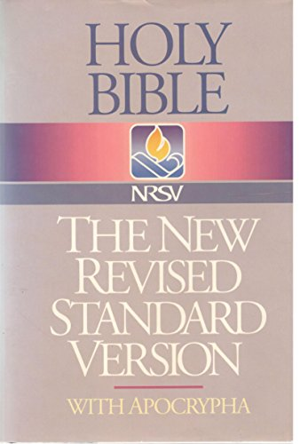 9780840713841: Holy Bible: New Revised Standard Version With Apocrypha/Deutercanonicals