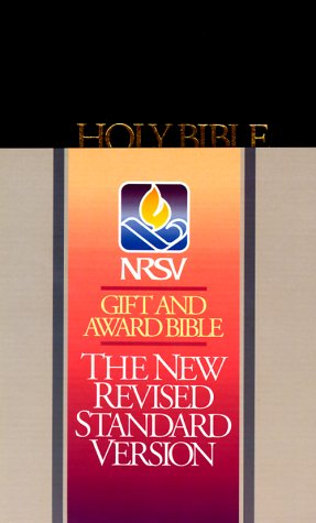 9780840713933: Bible: New Revised Standard Version Gift and Award Bible (Bible Nrsv)