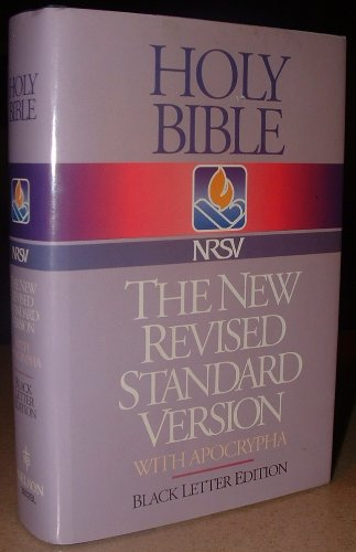 Holy Bible, NSRV with Apocrypha/Deuterocanonical (Black Letter Edition)