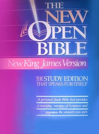 The New Open Bible, Study Edition, New King James Version