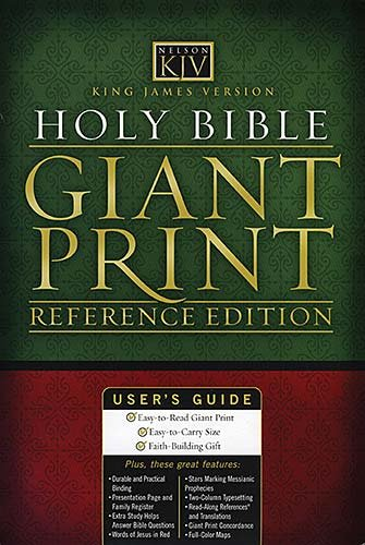 9780840717306: Holy Bible: King James Version: Giant Print Reference Bible