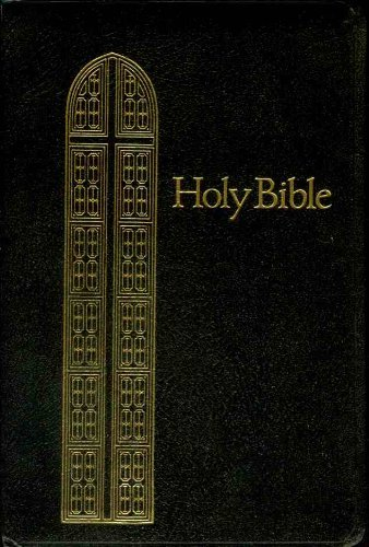 9780840717344: Holy Bible - Giant Print - Reference Bible with Concordance - Red Letter Edition - King James Version (885C Black - Leatherflex Gilded Gold Page Edges)