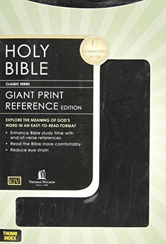 9780840717368: Giant Print Reference Bible