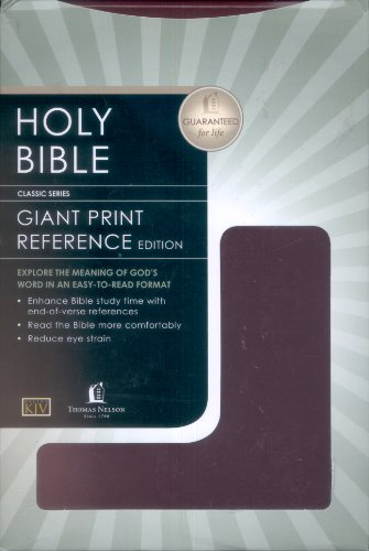 9780840717382: Bible KJV Giant Print Red Letter With Concordance
